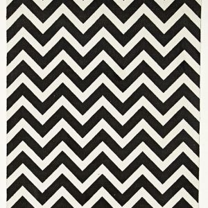 City Collection - Black Chevron
