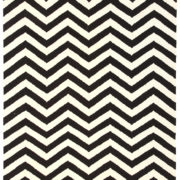 Nomad – Black White Chevron 1